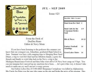 Scuttlebutt Newsletter JUL-SEP 2009