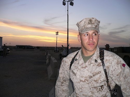 Wearing Of Usmc Navy Corpsman Uniform