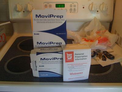 Pre-Colonoscopy prep Kit