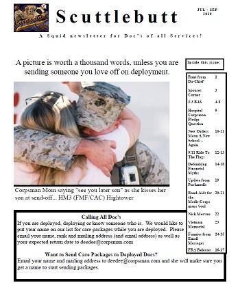 October 2010 Scuttlebutt News Issue #27