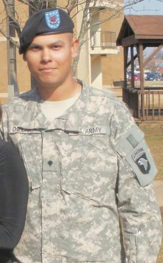 Army Spc. Shannon Chihuahua